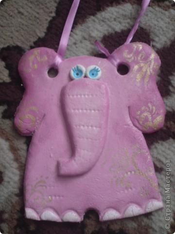 Розовый слоник фото 1