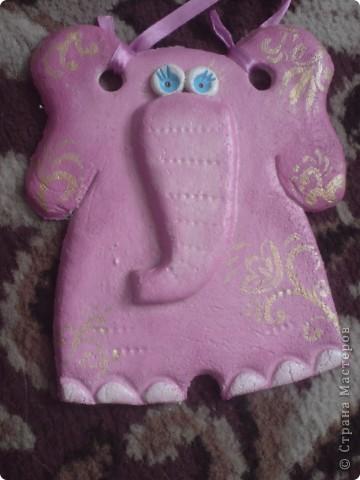Розовый слоник фото 2