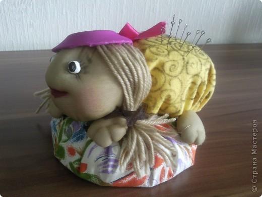 Первая вязаная игрушка... Большое спасибо за описание Светлане Мацкевич. МК http://xomyachok.ru/index.php?option=com_content&task=view&id=584&Itemid=116  фото 4