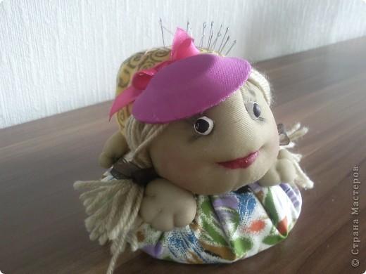 Первая вязаная игрушка... Большое спасибо за описание Светлане Мацкевич. МК http://xomyachok.ru/index.php?option=com_content&task=view&id=584&Itemid=116  фото 5