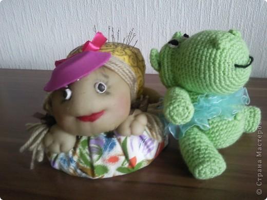 Первая вязаная игрушка... Большое спасибо за описание Светлане Мацкевич. МК http://xomyachok.ru/index.php?option=com_content&task=view&id=584&Itemid=116  фото 3