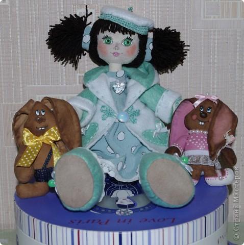 Кукла Иришка.  Назвала её так в честь Мастера Феи, которая вдохновила меня своими замечательными куклами  фото 5