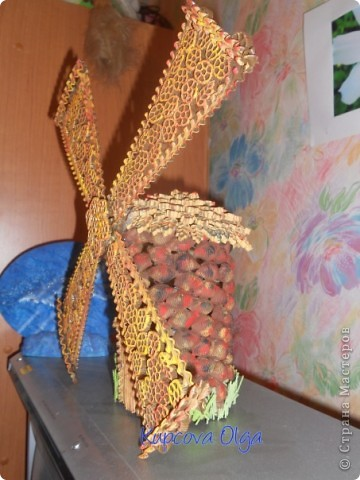 Впечатлила вот эта мельница,но у меня в гостях макаронная муза :) http://stranamasterov.ru/node/159279?c=favorite фото 3