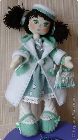 Кукла Иришка.  Назвала её так в честь Мастера Феи, которая вдохновила меня своими замечательными куклами  фото 1