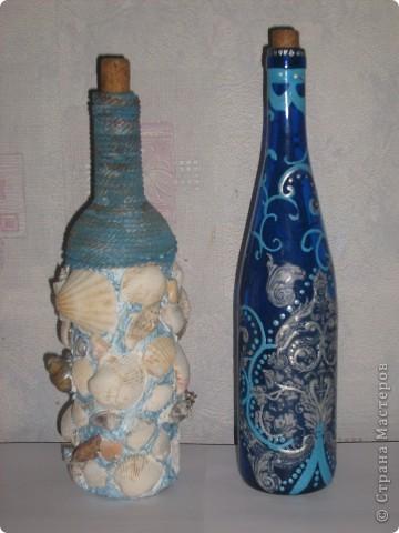 Декоративные бутылки фото 3