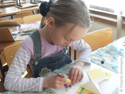 Лиза пробовала свои силы в скрапбукинге. фото 27