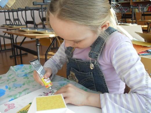 Лиза пробовала свои силы в скрапбукинге. фото 28