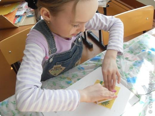 Лиза пробовала свои силы в скрапбукинге. фото 30