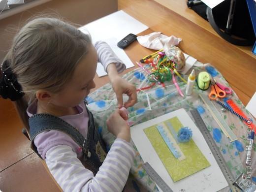 Лиза пробовала свои силы в скрапбукинге. фото 32