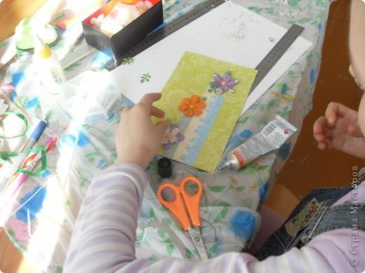 Лиза пробовала свои силы в скрапбукинге. фото 35