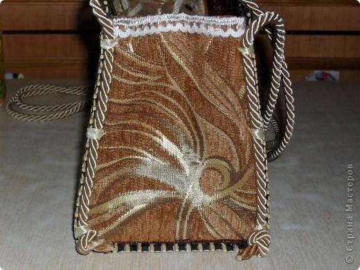 Смастерила для дочери летнюю сумку из бамбуковой салфетки. фото 8