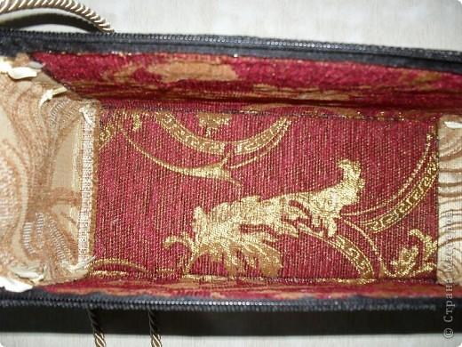 Смастерила для дочери летнюю сумку из бамбуковой салфетки. фото 9
