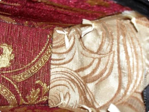Смастерила для дочери летнюю сумку из бамбуковой салфетки. фото 10