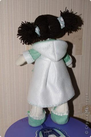 Кукла Иришка.  Назвала её так в честь Мастера Феи, которая вдохновила меня своими замечательными куклами  фото 3