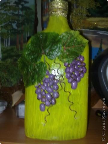 листики искуственные а виноград покрашенные зернышки кофе фото 1