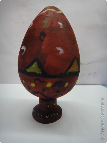 Решила предложить своим мастерам расписать яйцо, используя славянскую символику. фото 6