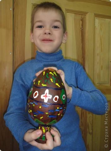 Решила предложить своим мастерам расписать яйцо, используя славянскую символику. фото 1