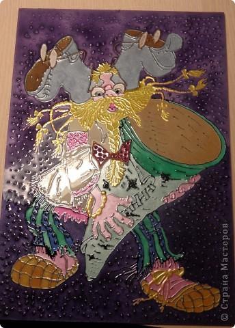 """Копия картины Густава Климта """"Поцелуй"""". Размер стекла 42*47 см.  фото 7"""