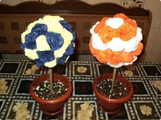 Цветочные деревья фото 2