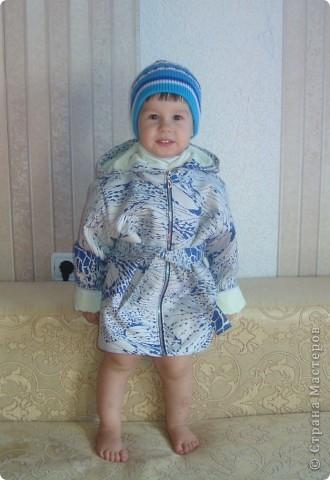 Курточка и шапочка для дочурки.
