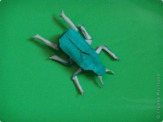 Изумрудный жук