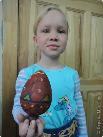 Решила предложить своим мастерам расписать яйцо, используя славянскую символику. фото 5