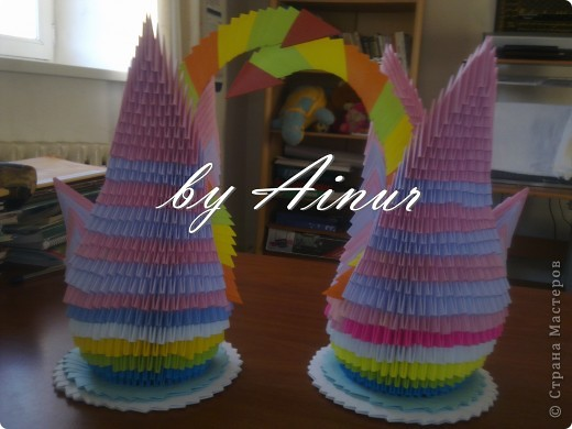 мои первые оригами) фото 4