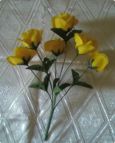 У вас был букетик искусственных цветов...  фото 1
