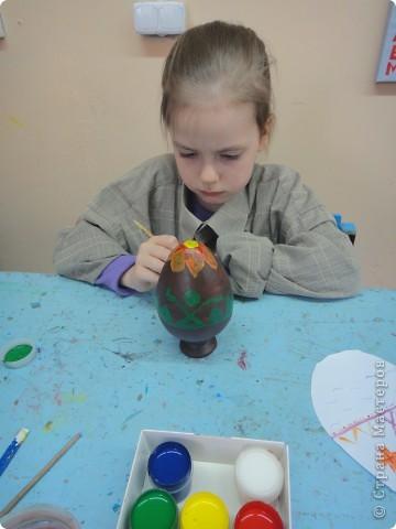 Решила предложить своим мастерам расписать яйцо, используя славянскую символику. фото 8