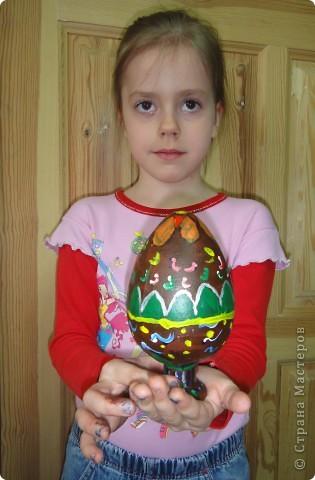 Решила предложить своим мастерам расписать яйцо, используя славянскую символику. фото 9