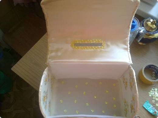 Вот такая коробочка у меня получилась, с учетом того что такую работу делала первый раз. фото 5