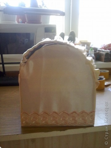 Вот такая коробочка у меня получилась, с учетом того что такую работу делала первый раз. фото 3