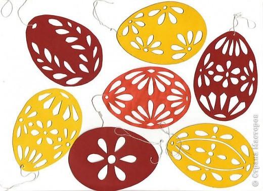 Вот за вечерочек быстро сообразила разнообразные пасхальные яйца. Украшу веночек или сделаю пасхальное дерево. Короче, есть над чем работать! фото 12