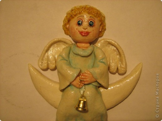 Вот такой у меня ангел вышел)))  фото 2