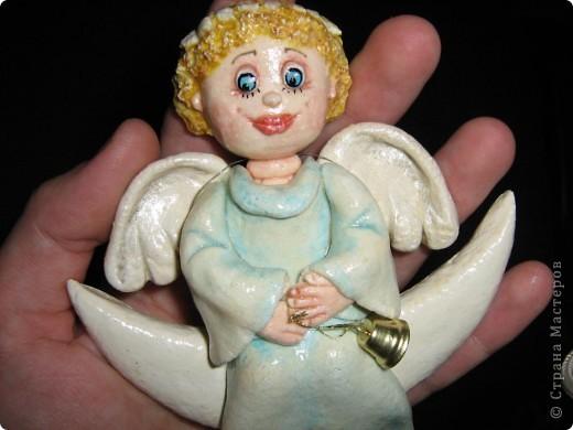 Вот такой у меня ангел вышел)))  фото 4