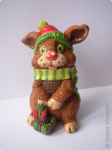 К новому году кролика фото 1