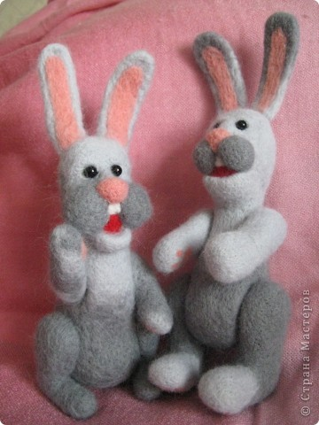 Зайцы и медведь.  фото 3