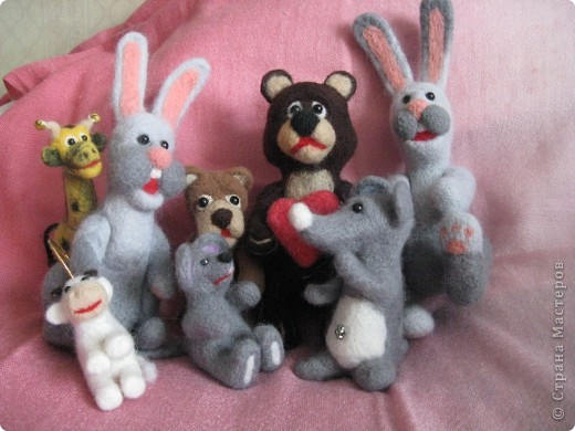 Зайцы и медведь.  фото 4