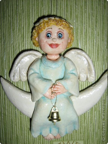 Вот такой у меня ангел вышел)))  фото 3
