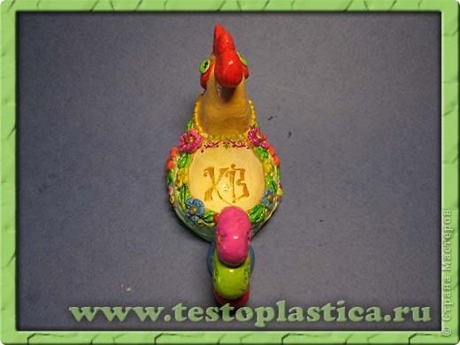 Подставка для пасхального яйца. Ссылка на урок http://testoplastica.ru/view_uroky.php?id=7 фото 2