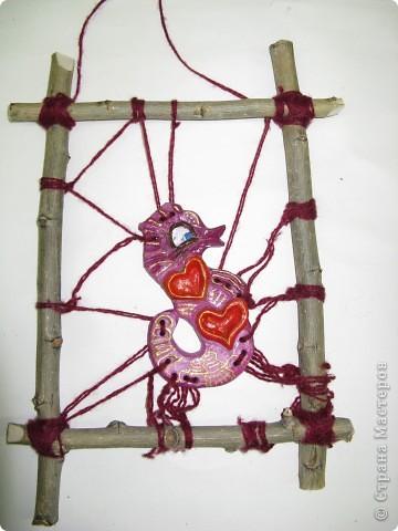 """Рыбки из глины роспись акриловыми красками для керамики. Работы детей . Эти работы учавствовали в конкурсе """"Славное море 2009 год.""""  фото 2"""