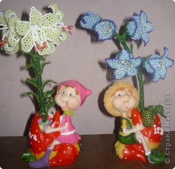 Лилия и колокольчик.. фото 1
