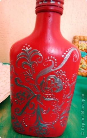 Еще декор бутылок. фото 8