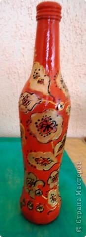 Еще декор бутылок. фото 3