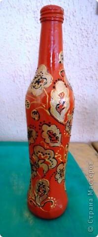 Еще декор бутылок. фото 4