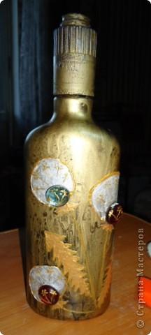 Еще декор бутылок. фото 9