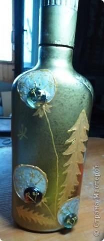 Еще декор бутылок. фото 10