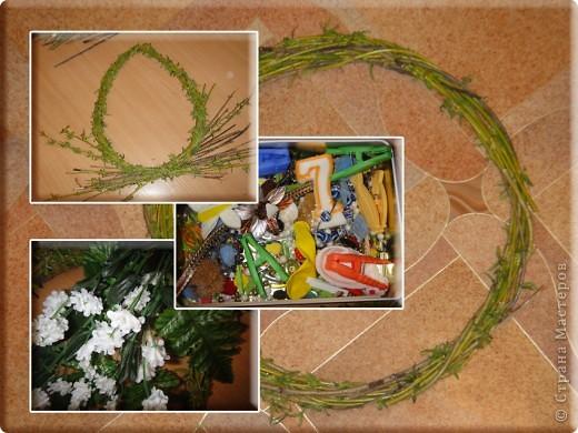 вот такие простенькие в исполнении веночки выгодно украсят ваш дом или офис в преддверии праздника. фото 2