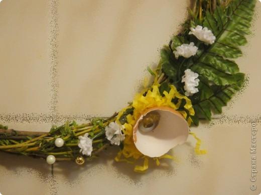 вот такие простенькие в исполнении веночки выгодно украсят ваш дом или офис в преддверии праздника. фото 12