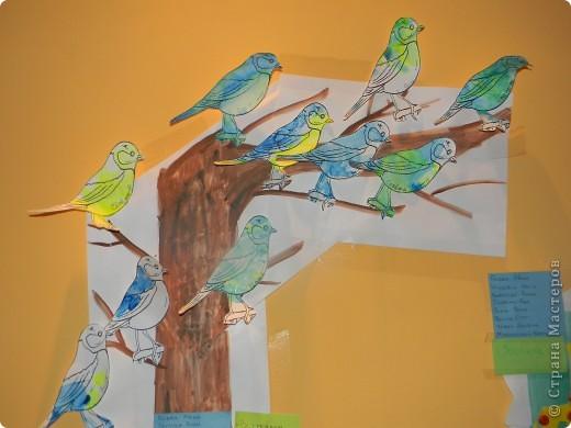 Первые птички,этой весной:) Коллективная работа. фото 1